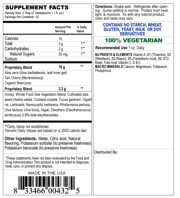 supplement facts label for whole food multi