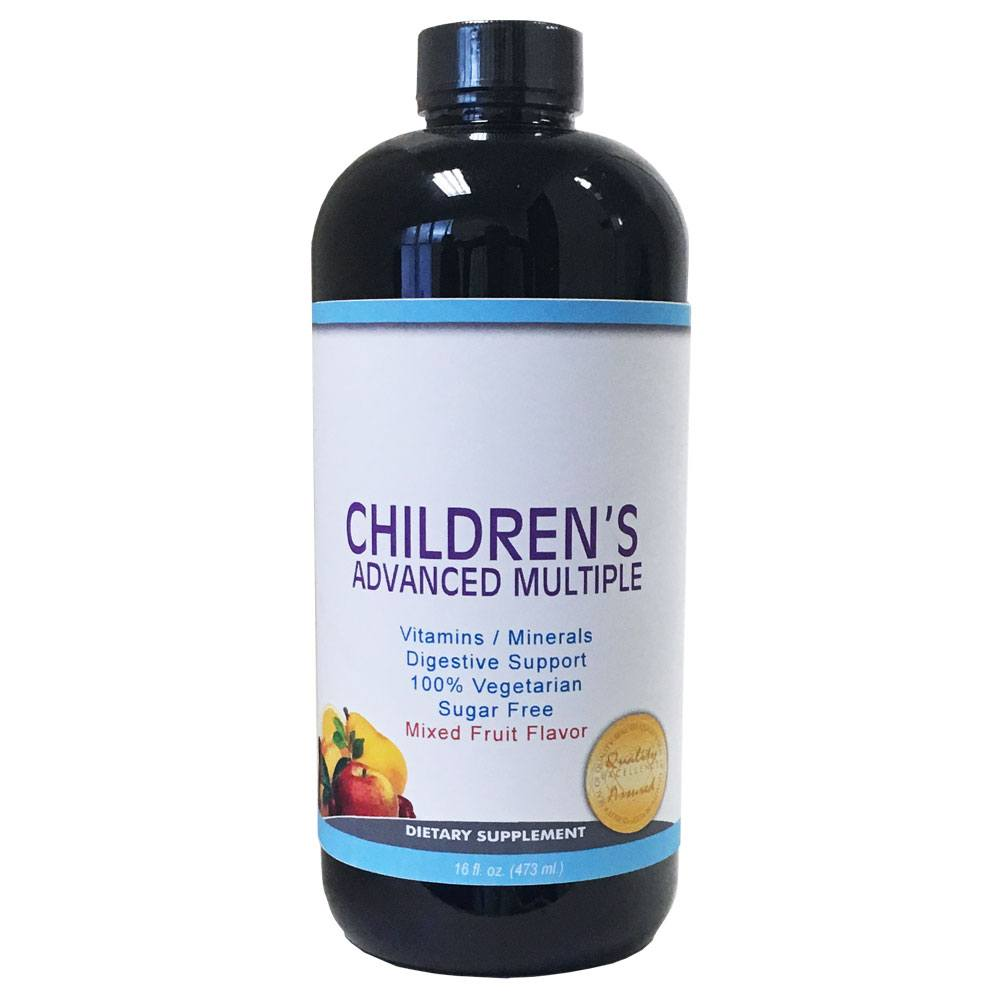 Private Label Children's Multivitamin Manufacturer