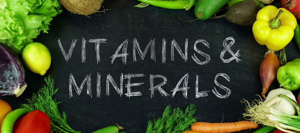why we need vitamins and minerals